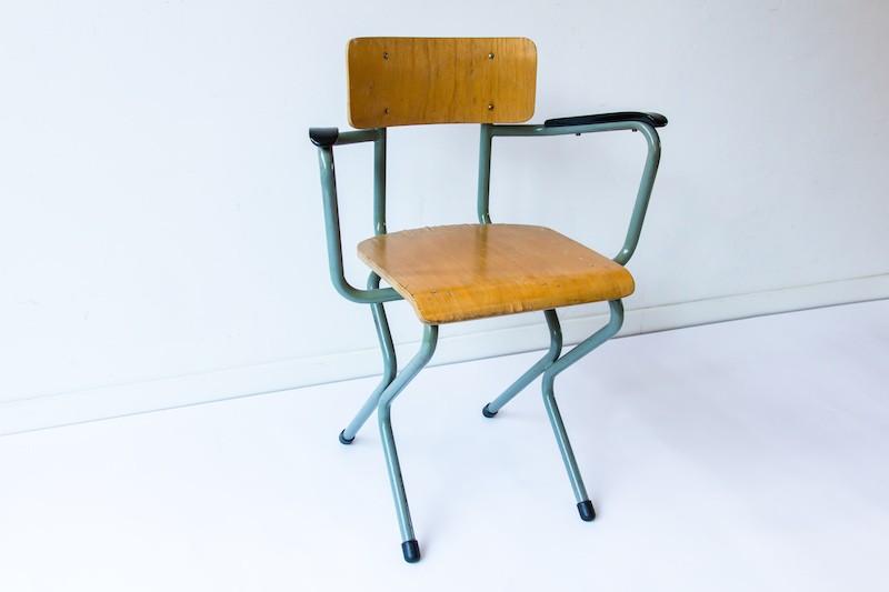 Vintage bureaustoel marijke keizer for Bureaustoel vintage