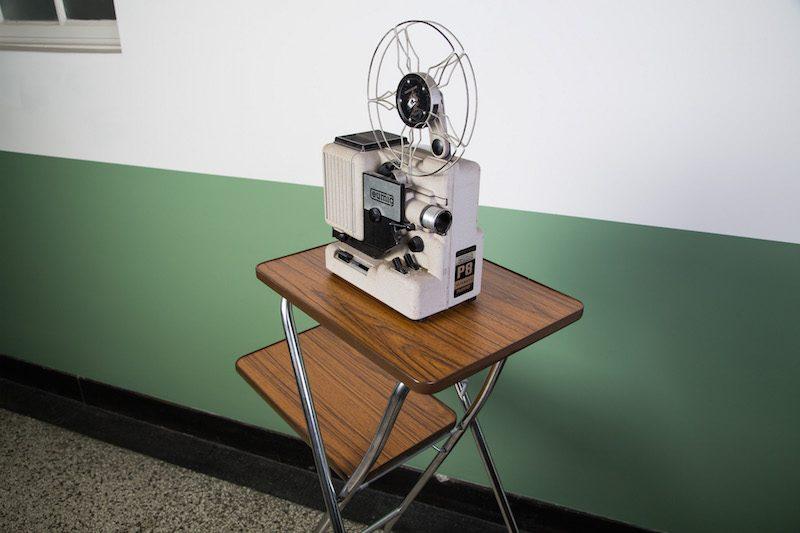Projector tafel