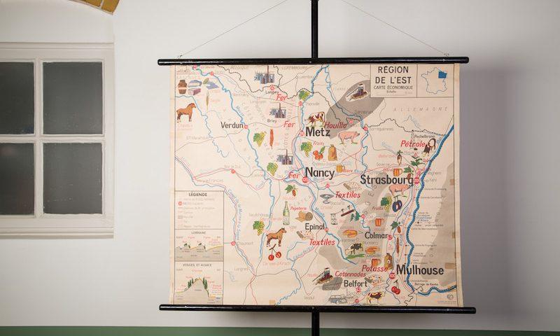 Schoolkaart la douce France (deux)