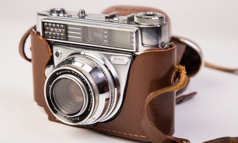 Fototoestel Kodak (met losse flitser)
