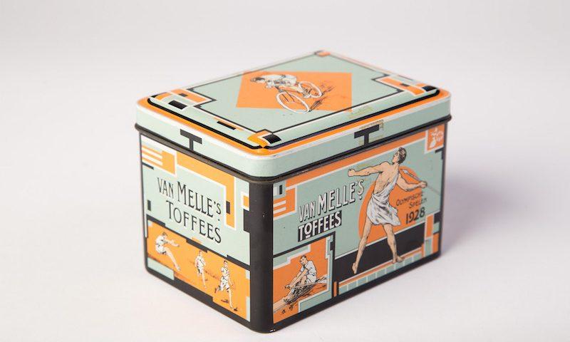 Blikje Van Melle's toffees