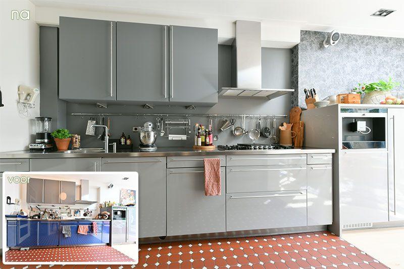 Restyling Keuken 1 voor en na